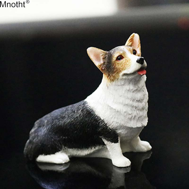 Mnotht Dog-Model Scene-Accessory Toy-Collection Automobile-Ornament Action-Figure