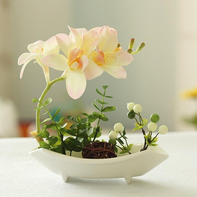 Украсить комнату компьютерные столы балкон семена бонсай 200 шт./пакет орхидеи семена ...
