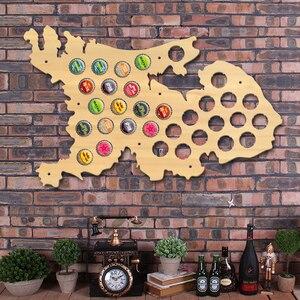 Tapa de cerveza de los Países Bajos, mapa de Holanda, tapa de botella de cerveza, soporte de exhibición, señal de pared de madera patriótica, hombre holandés, cueva, cerveza, regalo de amante