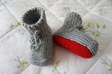High Quality!Mother Series! Comfortable Hand Knitted Baby Shoes Newborn Crochet Booties Infant Toddler Woolen Knitted By My Mum