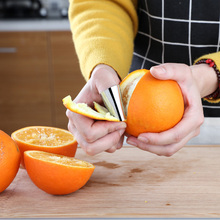 Finger Guard Protect Finger Sheller Vegetable Nuts Peeling Knife Cut Finger Protection Stainless Steel Kitchen Tool Gadgets seaan finger guard protect finger hand cut hand protector knife cut finger protection tool stainless steel kitchen tool gadget