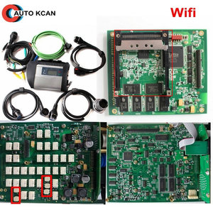Image 1 - Best Quality and Factory Price  Full Chip PCB MB SD C4 Star Diagnosis with WIFI for Cars and Trucks buses 12V & 24V