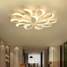 Nordic led lamps modern minimalist acrylic ultra-thin creative warm home lamp bedroom living room ceiling