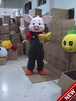 2018 New Mascot Costumes For Adults Christmas Halloween Outfit Fancy Dress Suit Free Shipping Pig