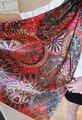 Chiffon cachecol xale longo cachecóis mulheres xaile de pashmina envoltório Qiu dong coringa estampa de leopardo cachecol cachecóis longos l 1 pçs/lote SW54