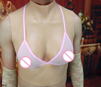 ST 4 Ecup Top quality silicone breast forms for men fake breast costume crossdresser huge breast forms silicone breast enhancer