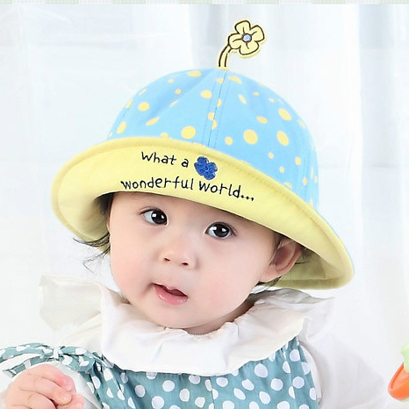 2371d2a3f60cf Baby Spring Sun Hat 1 2 Year Old Sun Hat Summer Baby Hat Korean Fisherman  Pot Cap-in Hats   Caps from Mother   Kids on Aliexpress.com