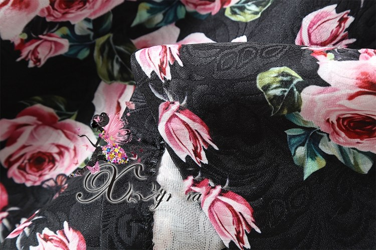 Женское короткое платье с бантом See Orange, черное/розовое вечернее платье с розовым бантом на осень, модель ND2307 - 5