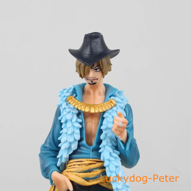 Action Figur Spielzeug Einteilige 1/8 Gemalte Figur 15th Ausgabe Sanji  Abbildung König Boden Garage Kits Puppen Brinquedos Anime In Action Figur  Spielzeug ...