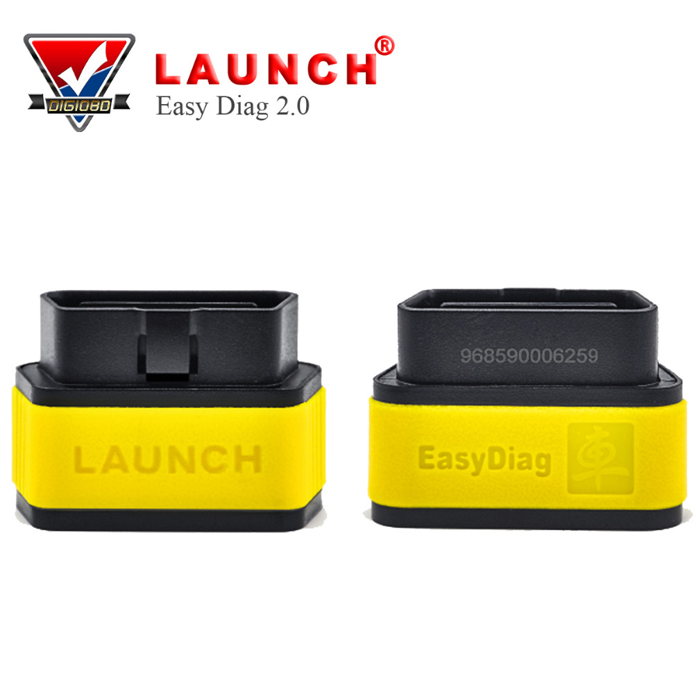 2017 New Version Launch X431 Easy Diag Original Diagnostic Tool Easydiag 2.0 for Android/iOS Scanner Update Via Launch Website launch x431 idiag connector full set package x 431 easydiag adapter launch x431 yellow box without b enz 38 pin adapter in stock