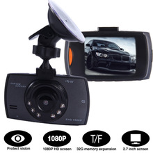 New 2.4 Inch Full HD 1080P Car DVR Video Recorder Support Night Vision Dash Cam Camera G-sensor with LCD Screen new 1080p hd portable recorders 3 0 inch lcd car dvr dash camera 170 degree night vision g sensor video recorder dxy88
