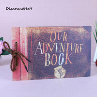 Our Adventure Book Our Adventure Book UP DIY Scrapbook Photo Album 80 Pages Wedding AlbumChristmas Gift