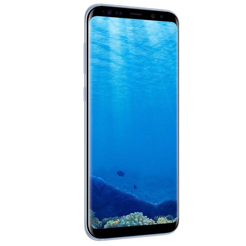 Original Entsperrt Samsung Galaxy S8 Handy 5.8 ''12,0 MP 4G RAM 64G ROM 4G LTE octa core 3000mAh Fingerprint Smartphone