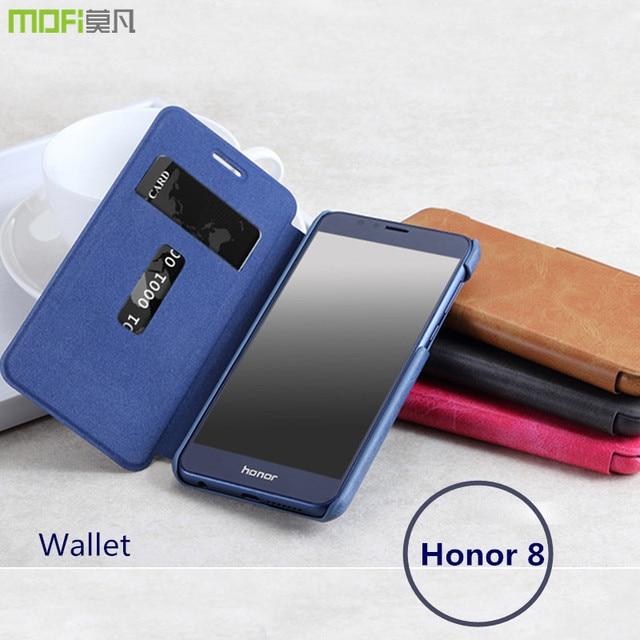 new styles ecf1d 4755c US $12.99 |Huawei honor 8 case wallet pouch card flip case MOFi original  huawei honor 8 cover hawei honnor8 accessories capa coque funda-in Wallet  ...