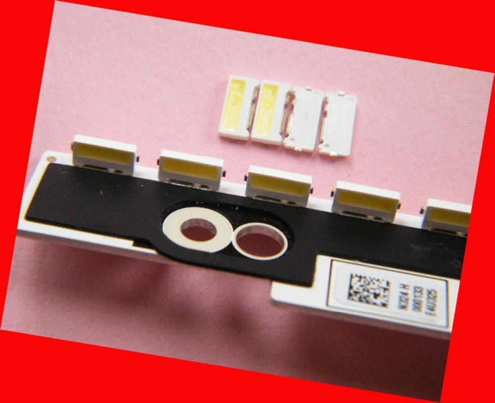 100piece/lot FOR Repair Samsung LCD TV LED Backlight Article Lamp SMD LEDs Side Shine 9V 7032 Cold White Light Emitting Diode