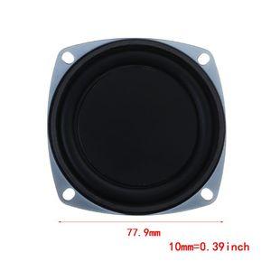 Image 5 - 2PCS Bass Speaker 77.9mm Vibrating Vibration Membrane Passive Woofer Radiator Diaphragm DIY Repair Kit