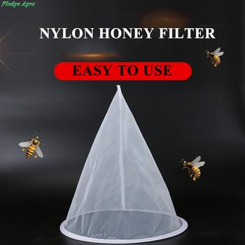 Narzędzia miód pszczeli filtr zanieczyszczenia filtracja tkanina fibre Precision Screener sitko netto pszczelarstwo Hive sprzęt pszczoły tanie i dobre opinie PLQ-129 pledge agro Nylon 150mesh Honey filtering