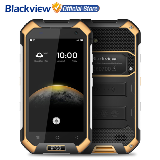 BLACKVIEW BV6000 4G Мобильный телефон 4.7 дюймов HD MTK6755 Octa Ядро Android 6.0 3 ГБ RAM 32 ГБ ROM 13MP Cam Водонепроницаемый IP68 Смартфон