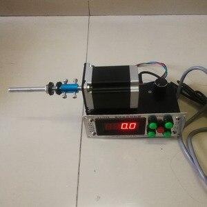Image 2 - בקרה דיגיטלית אוטומטי נמוך מהירות משתנה אוטומטי צעד מנוע שנאי סליל מתפתל מכונת 2 כיוונים חוט המותח