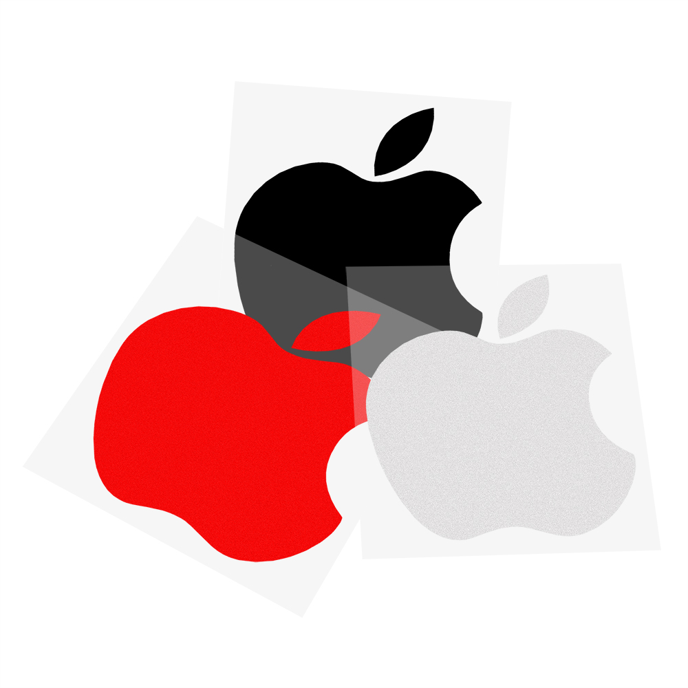 4 Colors Apple Logo  Car-styling Car Window Decor Car Stickers and Decals Exterior Accessories Auto Motorcycle Sticker car body sticker for cars for fiat 500 dynamic grid waist custom car stickers and decals car styling auto accessories 2pcs
