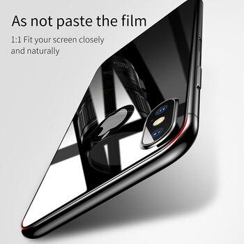 Закаленное стекло Baseus для iPhone X 10 6