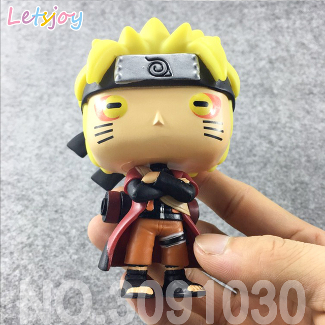 Naruto Sasuke pop horse kyuubi Kurama HOKAGE Ultimate Ninja cute kawaii Figure High Quality Action Toys Model car