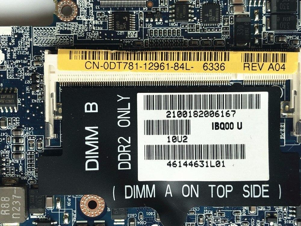 Dell Latitude D630 DT781 Socket M DDR2 Intel Laptop Motherboard