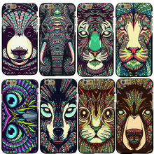 New Super Hot Fashion Animal Designs Shell Hard Back Case Cover For Apple iPhone 6 6S 6 Plus 6S Plus Free Shipping
