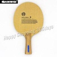 SANWEI HC6S Hinoki Carbon Table Tennis Blade/ ping pong blade/ table tennis bat