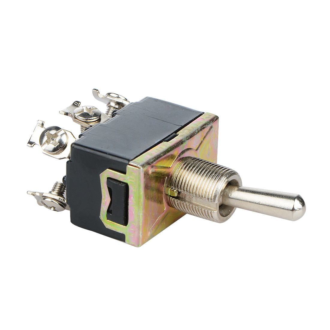 AC 380V 10A ON//OFF//ON 3 Positions 12 Pin Latching Toggle Switch 4PDT AD