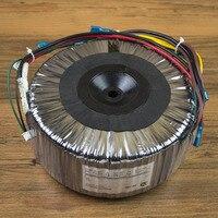 1000VA Toroidal transformador de tensão de Saída: Dual 24V-0v-24V  0 v-12 v (1A)