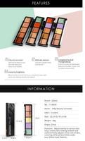 5 Colors Palette Concealer Face Contouring Makeup Concealer Cosmetic Facial Care Cream Palette