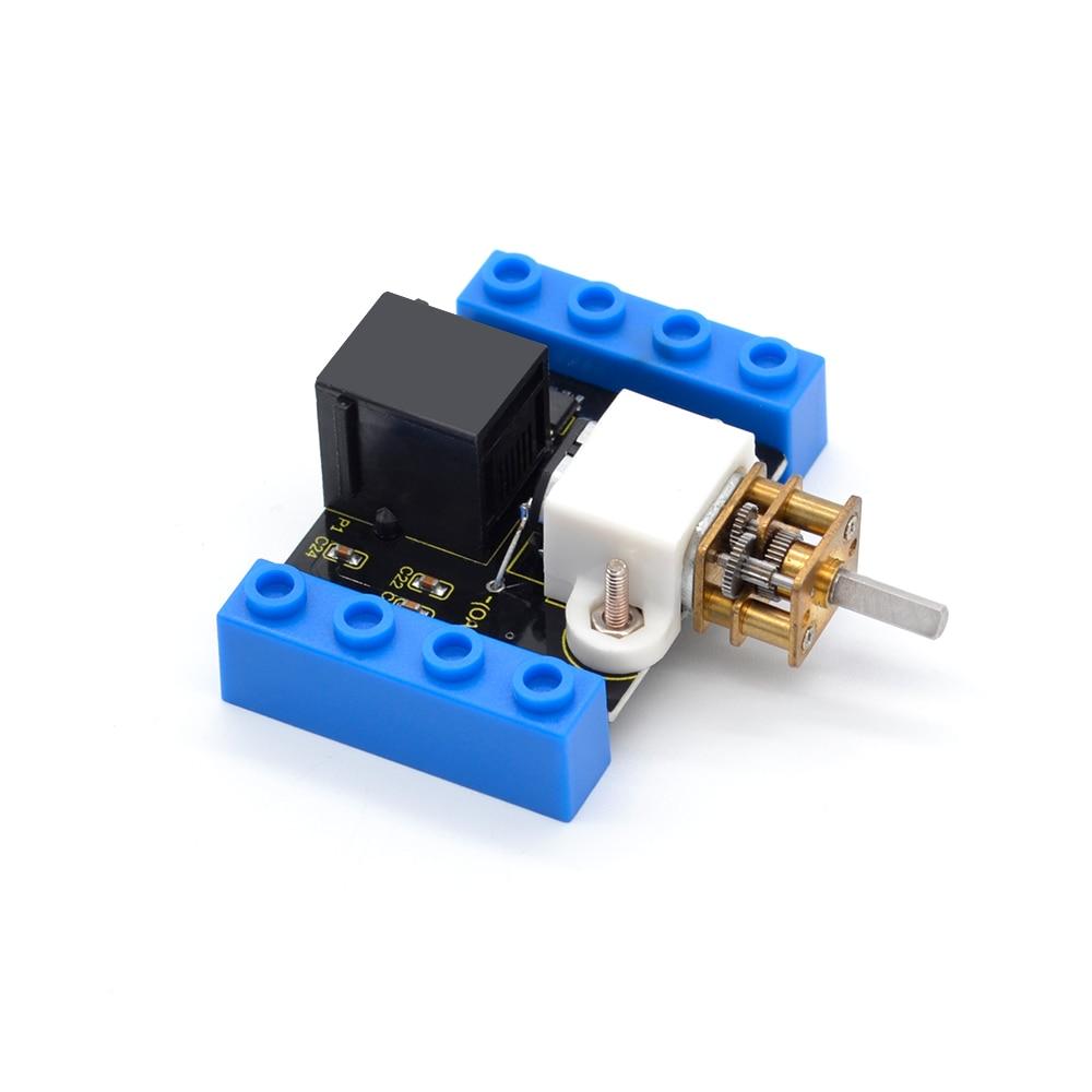 Image 2 - Kidsbits блоки кодирования N20 моторный модуль для Arduino пара EDU (черный и экологически чистый)-in Доски для показов from Компьютер и офис on AliExpress - 11.11_Double 11_Singles' Day