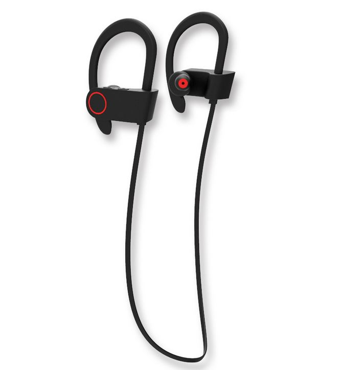 <font><b>Bluetooth</b></font> Earphone Headphones with Magnet Attraction Slim Neckband Wireless Headphone Sport Earbuds with Mic