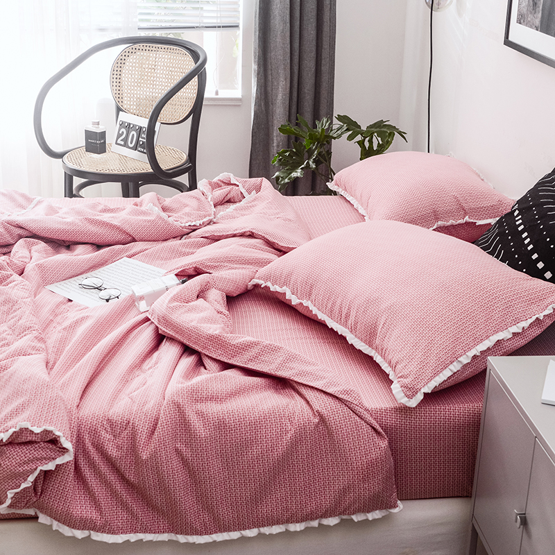 Simple luxury summer quilted quilt Air condition quilts pillowcase single double queen king size bed Comforter #s