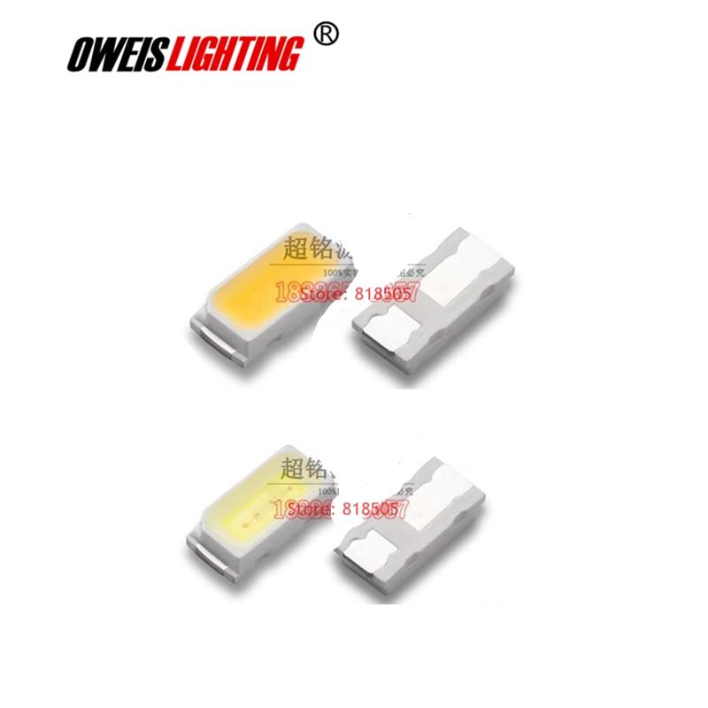 100PCS 3014 WHITE SMD LED 0.1W 10-12LM 30mA TRUE WHITE 6000-7000K / NATURAL 4000-5000K / WARM 2800-3200K / COLD 9000-13000K