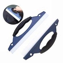 EHDIS 2 sztuk miękkiego silikonu okno wycieraczki wycieraczki do wody Windowshield myjnia samochodowa skrobak Auto odcień szklarnia urządzenia do oczyszczania