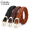 Catelles Fashion woven belts  hand made good quality one size