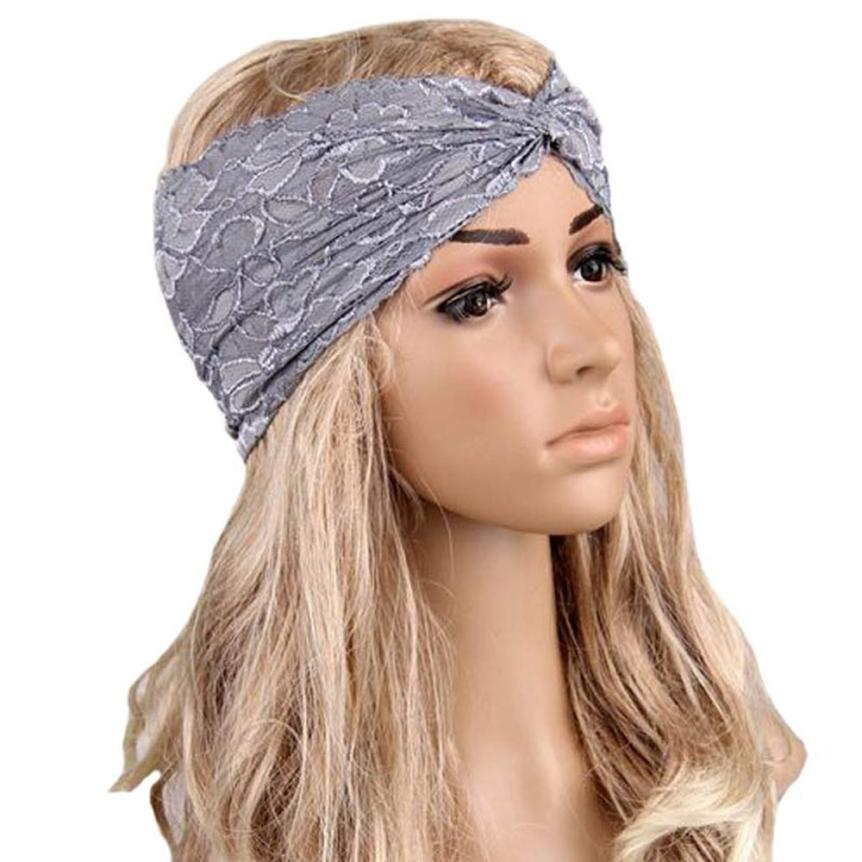 Free Shipping Causual Women Headwear Twist Sport Yoga Lace Headband Turban Headscarf Wrap hair accessories headbands for women анрэкс тумба под тв oscar