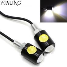 Motocicleta LED indicadores de señal de giro luces intermitentes universales motocross para Yamaha TMAX 530 500 MT-07 FZ-07 MT-09 R3 R6