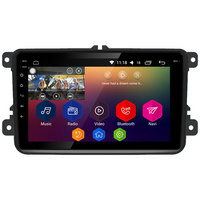 8 Android 8.1 Octa Core 2GB+32GB RDS Car DVD Player Radio Stereo For Skoda Yeti Fabia Rapid Praktik Superb Octavia Roomster