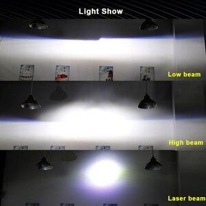 Image 5 - Sanvi 2.5 インチL81Cバイled & レーザープロジェクターレンズヘッドライト 85 ワット 6000 18kレーザー車のヘッドライト車のライトレトロフィット