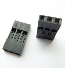 100PCS/Lot 3P 2.54mm Single Row Plastic Dupont Head Jumper Wire Cable Housing Female Pin Connector 100pcs dupont head 2 54mm 4p 1x4p dupont plastic shell pin head connector jumper wire cable housing plug female