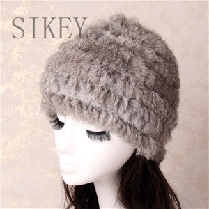 d7ad240c50610 free shipping fashion winter hat knitted real rabbit fur cap many colors warm  cap hot style wholesales fur hat