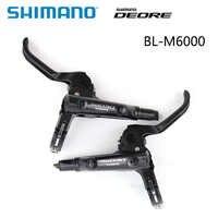 Genuine Shimano Deore BL-M6000 Disc Brake Lever I-Spec II left OR right hand mountain MTB bike brake lever bike accessories