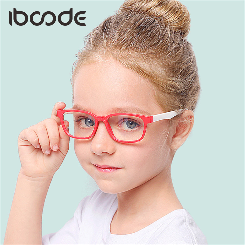 Glasses Eye Protector Frame Goggles Iboode New 2020 Silicone Blue For Baby Girl Boy Children