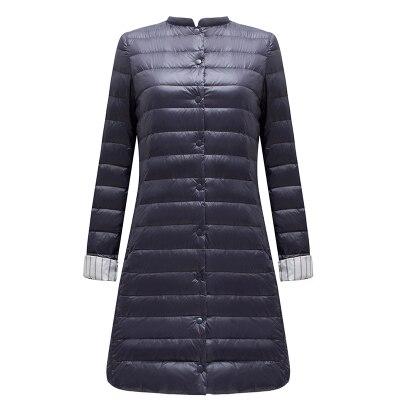 FTLZZ ульсветильник Кая длинная куртка на утином пуху, женское весеннее теплое пальто с подкладкой, женские куртки, пальто, зимнее пальто, портативные парки