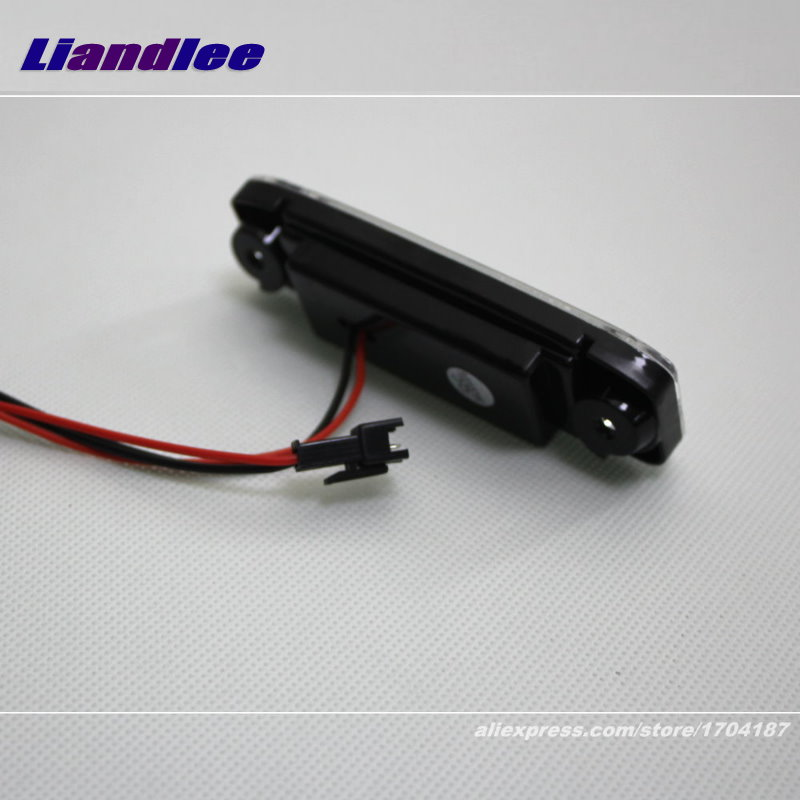 Liandlee For Hyundai Avega / Brio / Super Pony / LED Car License Plate Light / Number Frame Lamp / High Quality LED Lights