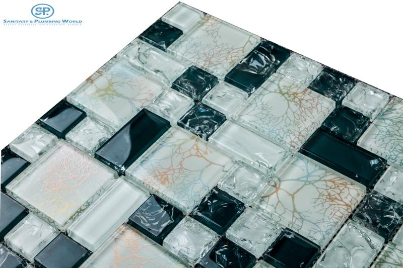 Sticker Backsplash Part 23 Crystal And Glass Mosaic Tiles Sticker Backsplash Mosaic Tiles Mirror