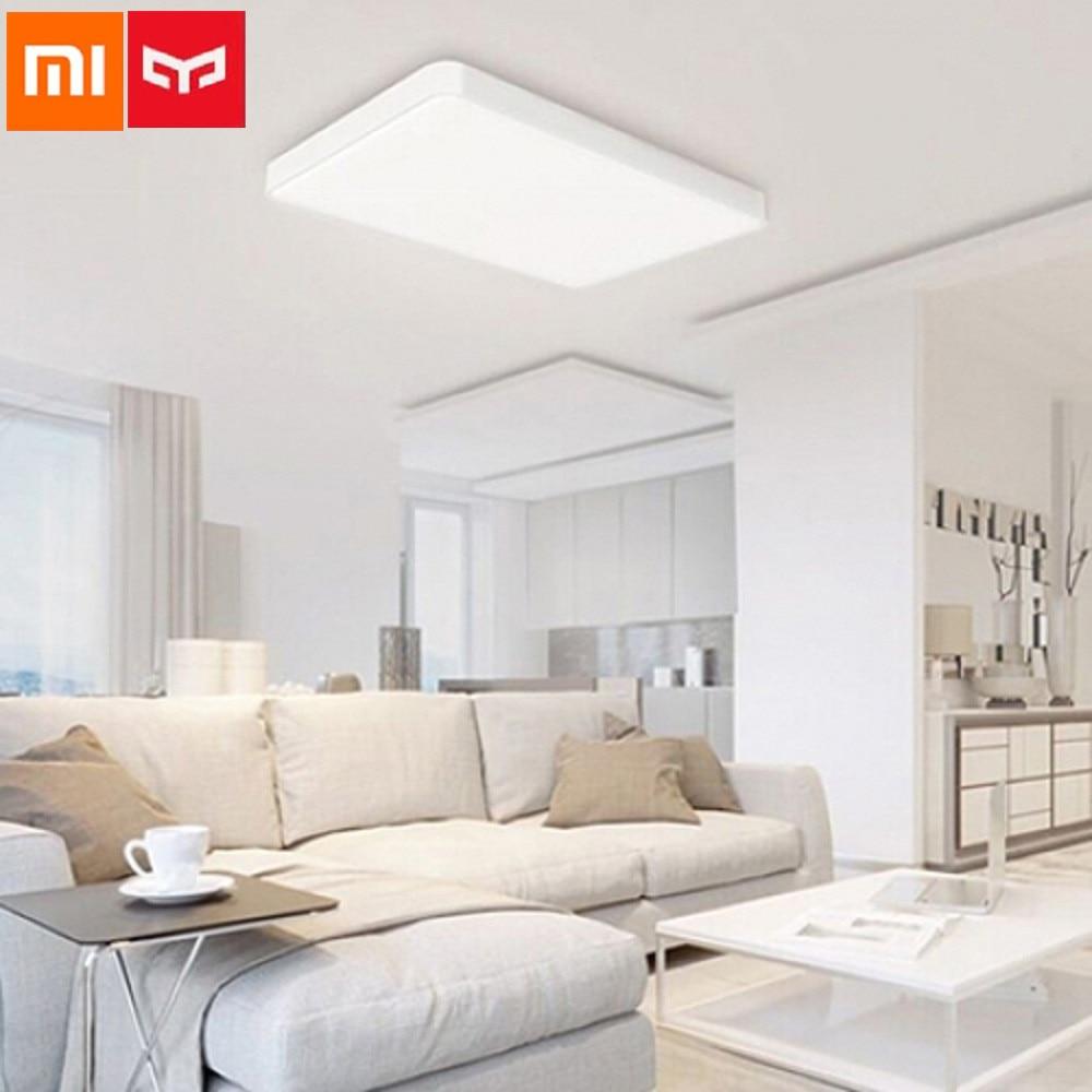 Xiaomi Yeelight Pro Simple LED Ceiling Light WiFi / App / Bluetooth Smart Remote Control For Living Room PK Xiaomi JIAOYUE 650mm xiaomi smart remote control transmitter for philips smart led ceiling light%2